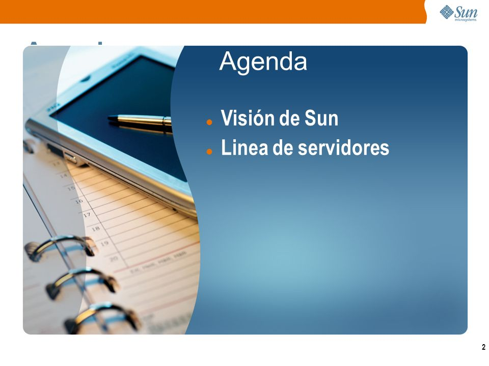 3 Visión de Sun Network.com Software ServicesStorage Systems