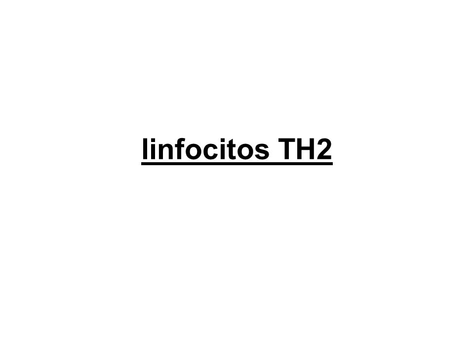 linfocitos TH2