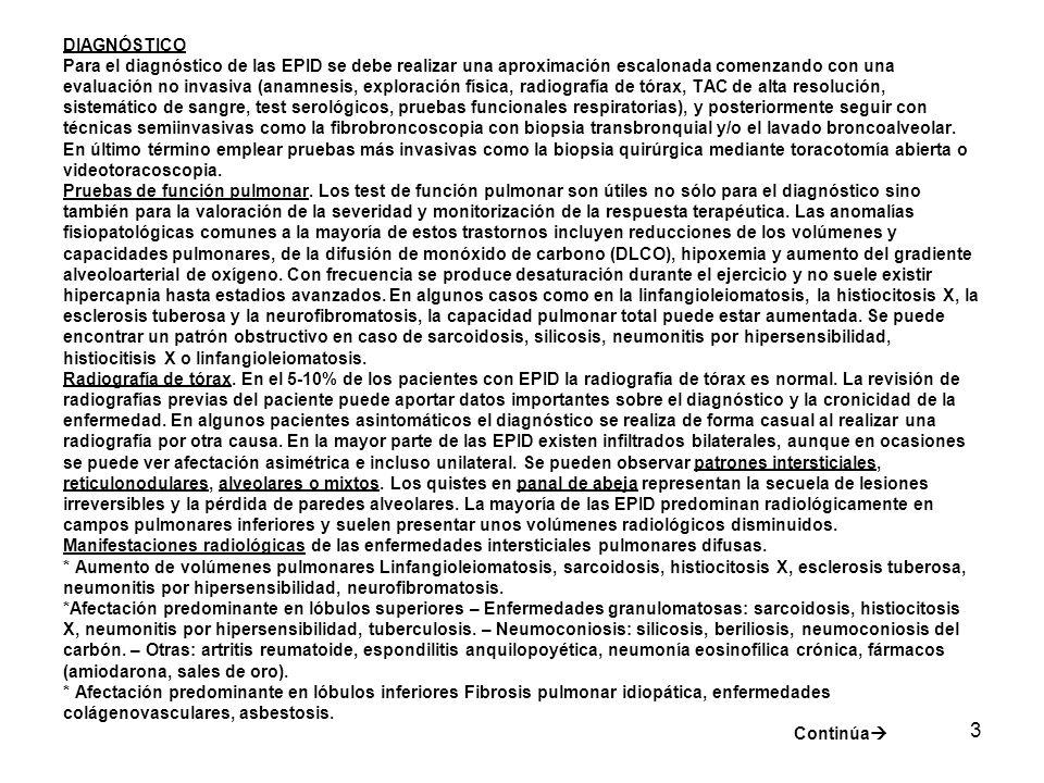 4 *Patología pleural – Derrame pleural: linfangitis carcinomatosa, asbestosis, sarcoidosis, enfermedades colágenovasculares, linfangioleiomatosis (quilotórax), neumonitis por radiación, nitrofurantoina.