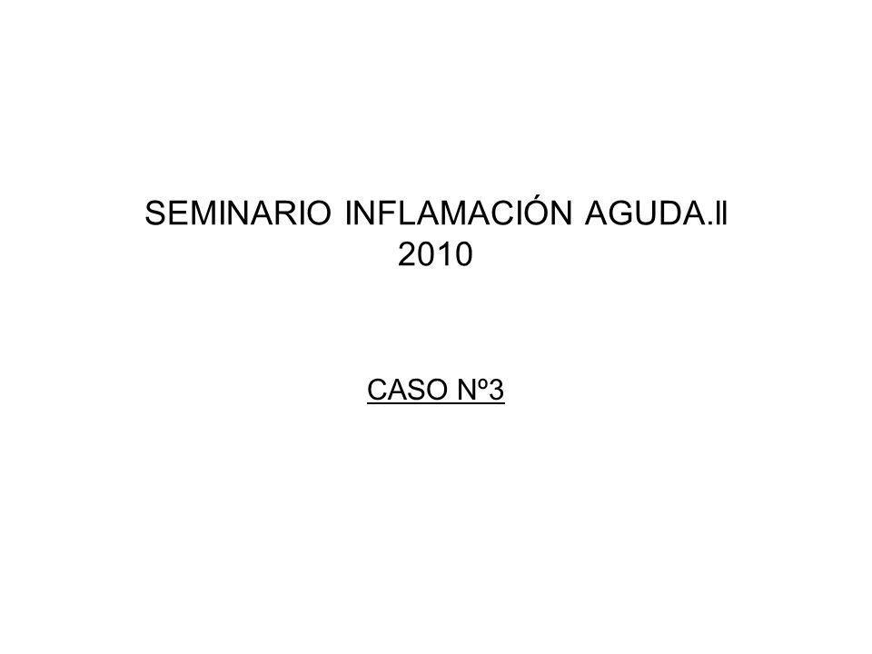 SEMINARIO INFLAMACIÓN AGUDA.ll 2010 CASO Nº3