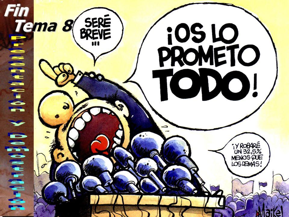 © Enrique Pérez del Campo, 2000 21 Tema 8: Presentación y demostración Lugar de demostración zEl lugar más adecuado es en los locales del vendedor, ya