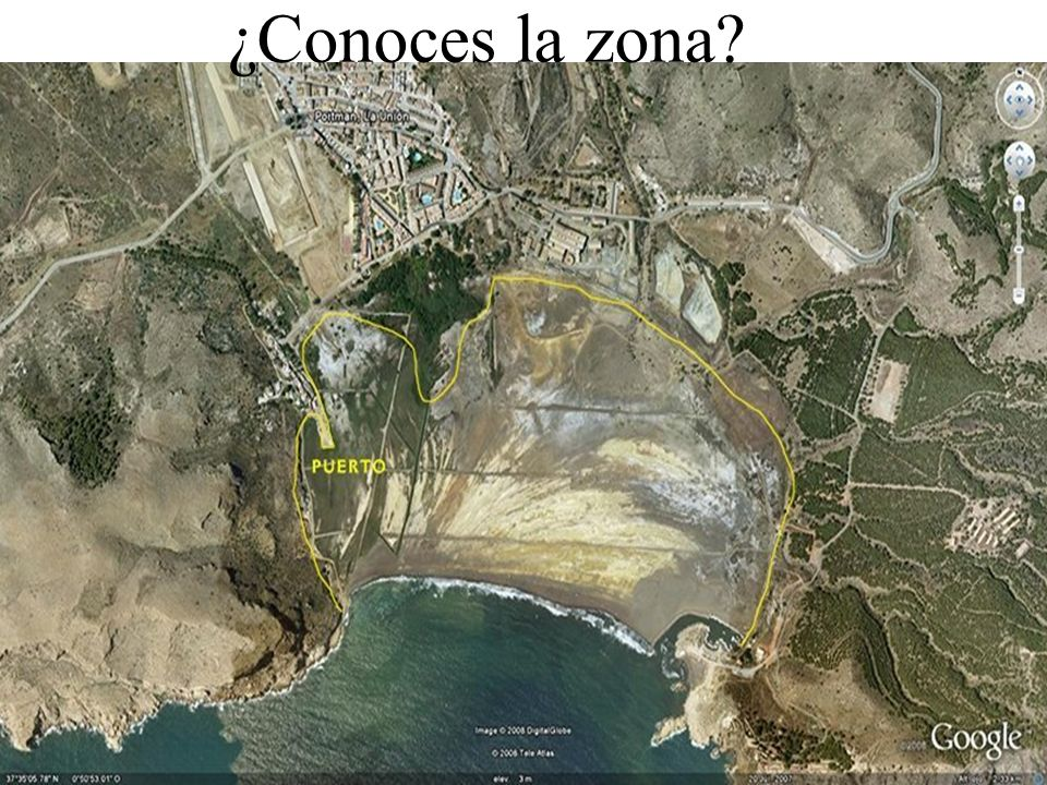 ¿Conoces la zona?