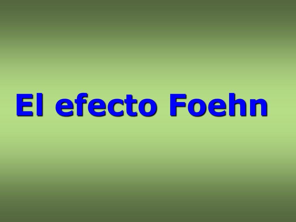 El efecto Foehn