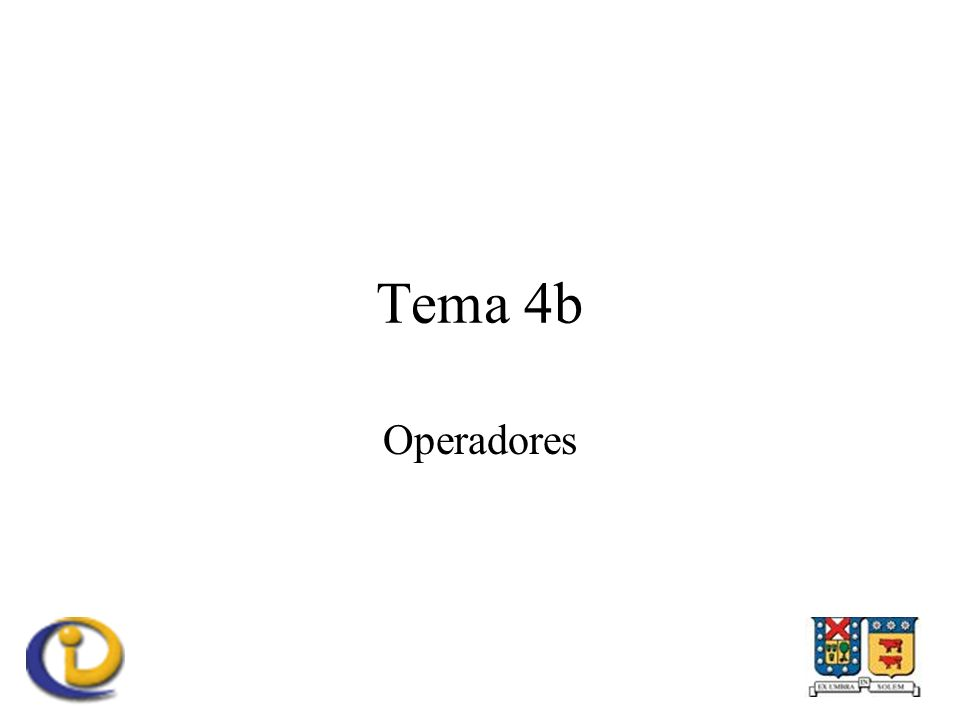 Operadores lógicos En lógica booleana –y, o, no En C –&&, ||, .