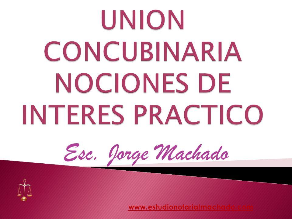 Esc. Jorge Machado www.estudionotarialmachado.com
