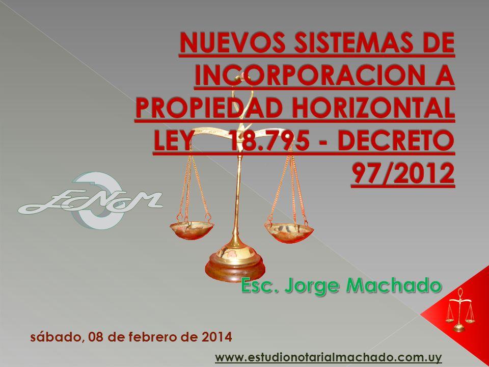www.estudionotarialmachado.com.uy sábado, 08 de febrero de 2014
