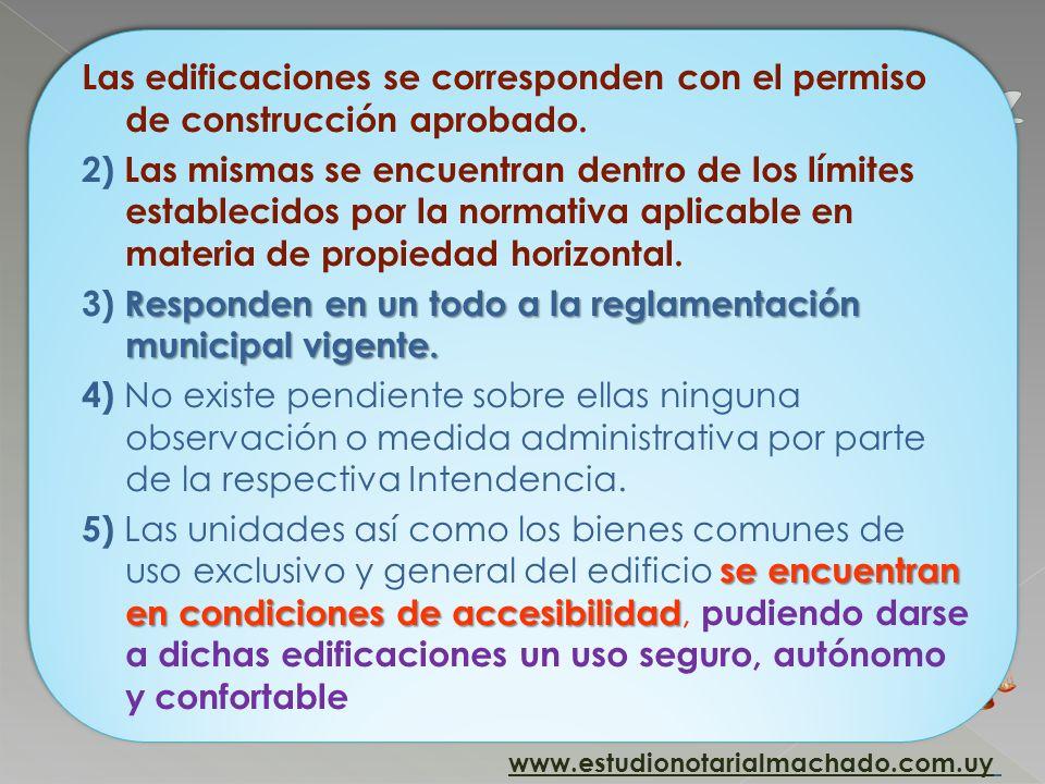 c) Certificado de habitabilidad del edificio, suscrito por el arquitecto o ingeniero civil director de obra y el ingeniero agrimensor, acreditando lo