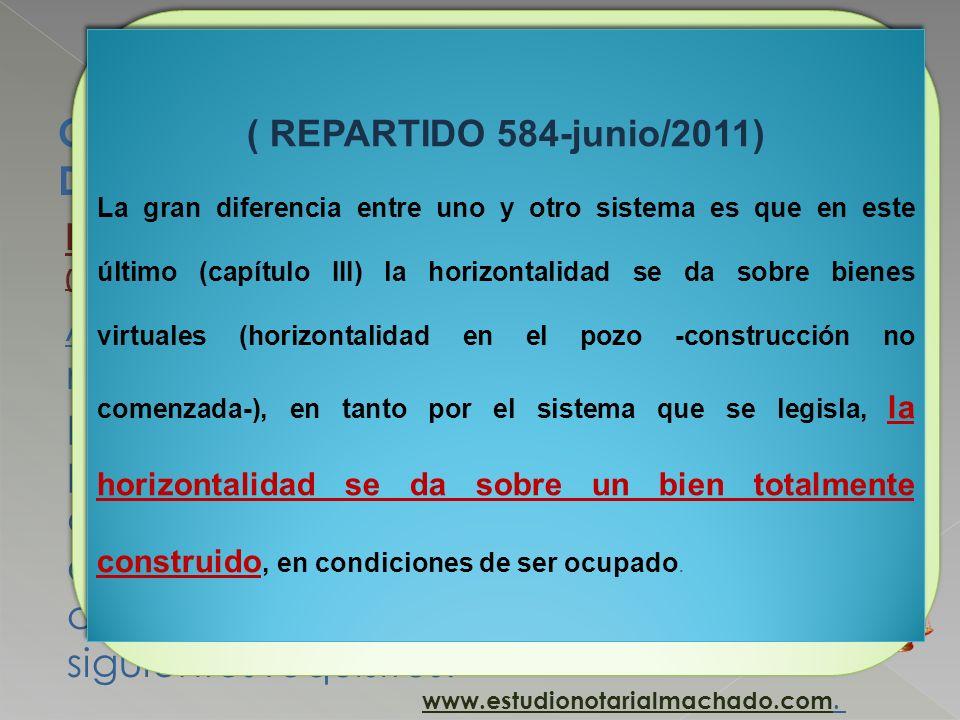 CAPÍTULO III INCORPORACIÓN AL RÉGIMEN DE PROPIEDAD HORIZONTAL HORIZONTALIDAD DEFINITIVA ANTICIPADA (POR OCUPACION) Artículo 18. (Requisitos).- Se cons