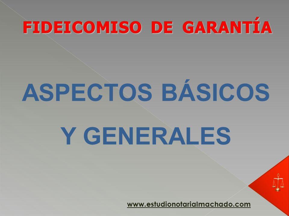 PG Fideicomitente Fiduciario obligación PF modo Beneficiario PG 1256 www.estudionotarialmachado.com
