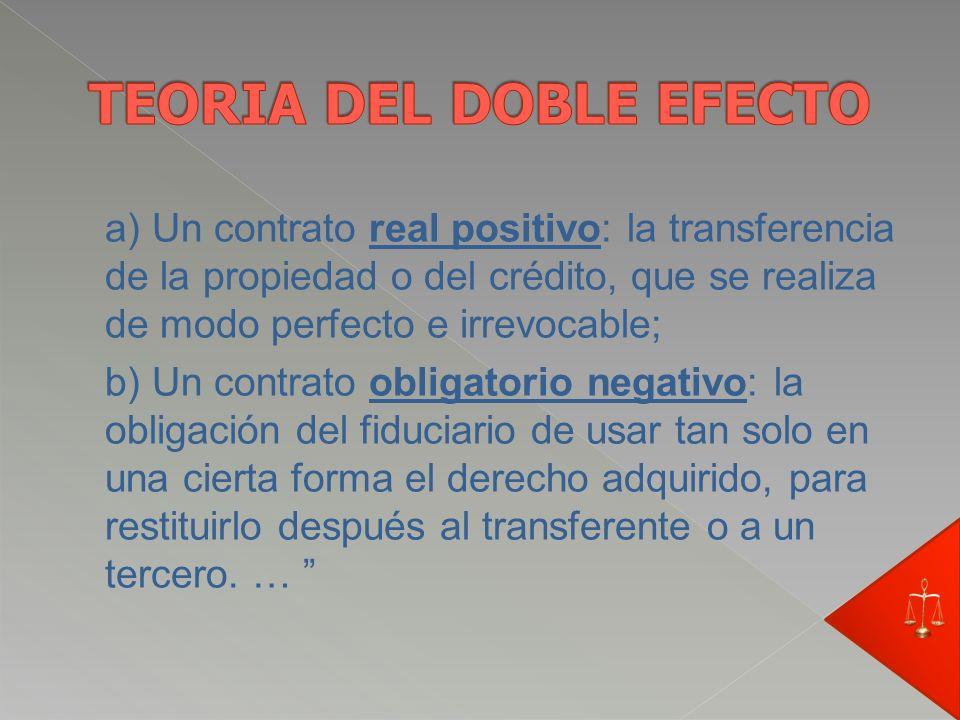 Extraído de la exposición de motivos enviada por el Poder Ejecutivo. Repartido: 1413 – Sep./2003 Siguiendo a Ferrara puede sostenerse que el negocio f