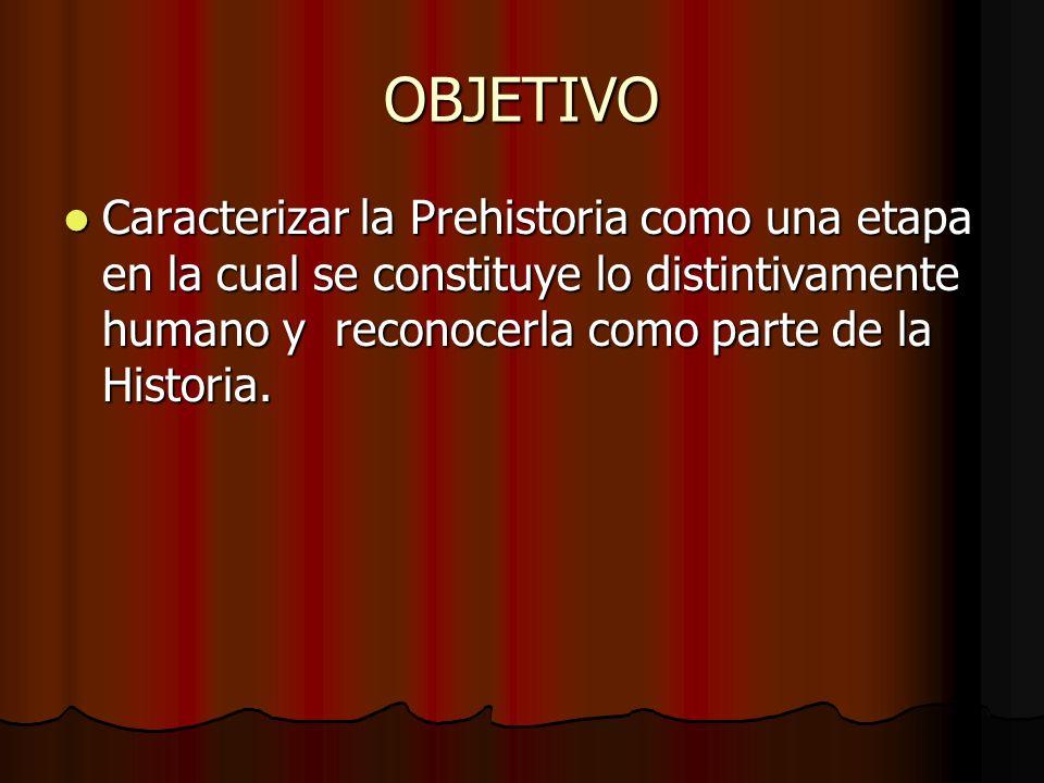 Departamento de Historia La Prehistoria y sus primeras manifestaciones culturales