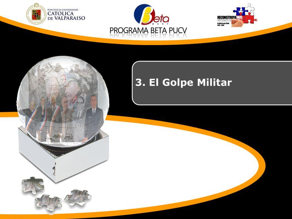 3. El Golpe Militar