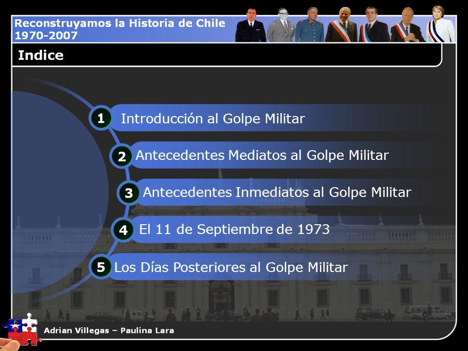 1.Introducción al Golpe Militar 4.