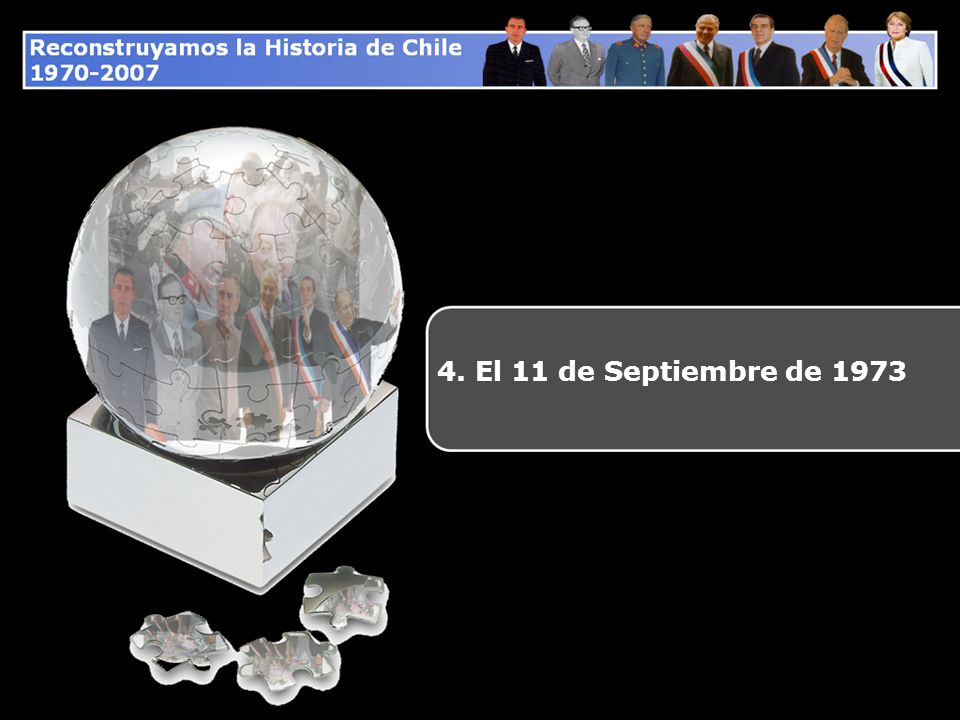 4. El 11 de Septiembre de 1973
