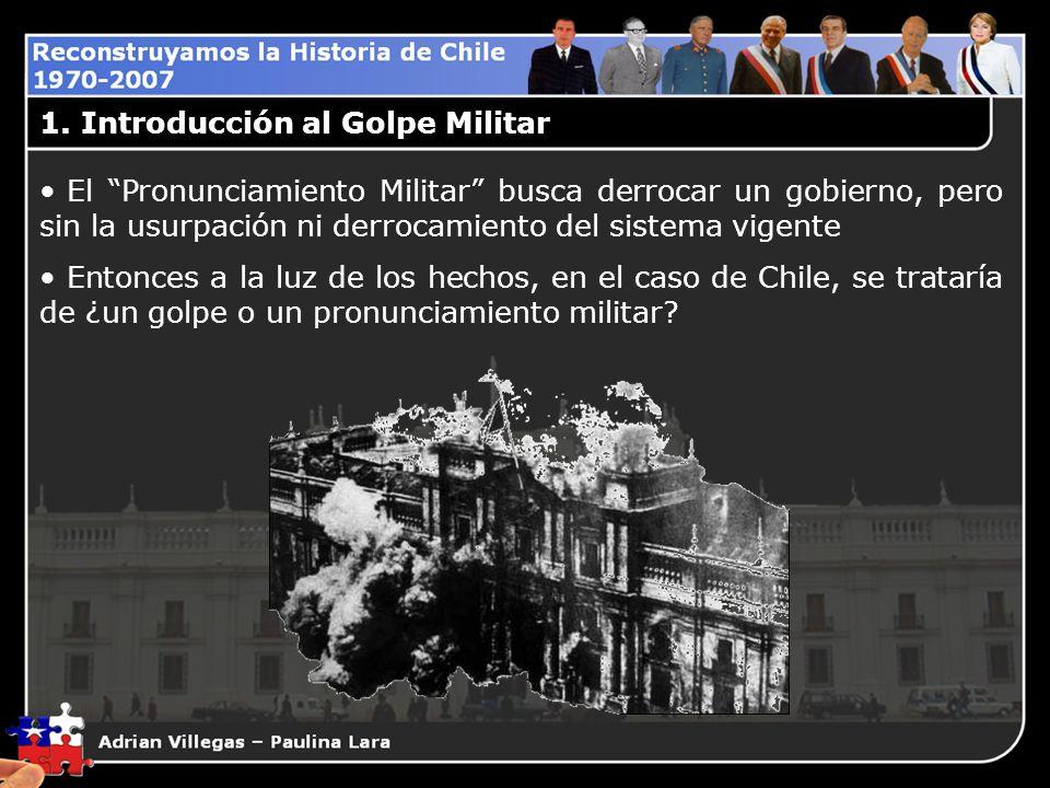 2.Antecedentes Mediatos al Golpe Militar 2.B.