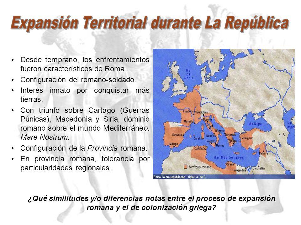 INSTITUCIONES ROMANAS. 1.- Magistraturas: Cargos electivos, votados por las Asambleas. Cargos temporales (normalmente un año) Cargos colegiados (dos o
