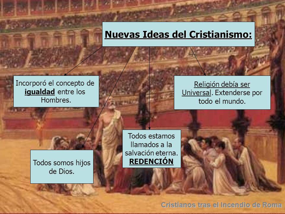 Nacimiento y expansión del Cristianismo.