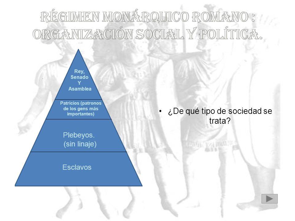 ¿Qué diferencia existe entre la Monarquía practicada en Roma y la practicada en Grecia?