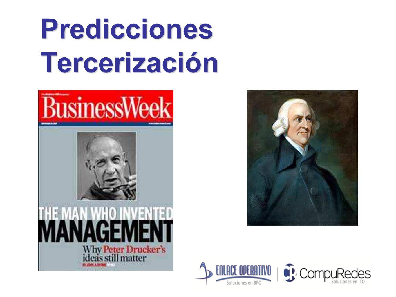 Predicciones Tercerización