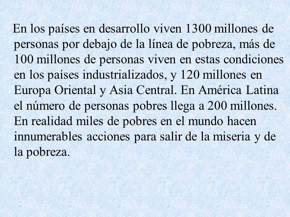 El trabajo contra la pobreza en Chile Organismos estatales: –Ministerio de planificación y colaboración –Fondo solidario de integración social Organizaciones privadas: Fundación nacional para la superación de la pobreza: Servicio País.