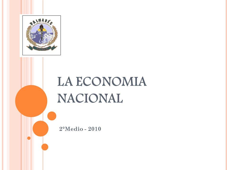 LA ECONOMIA NACIONAL 2°Medio - 2010