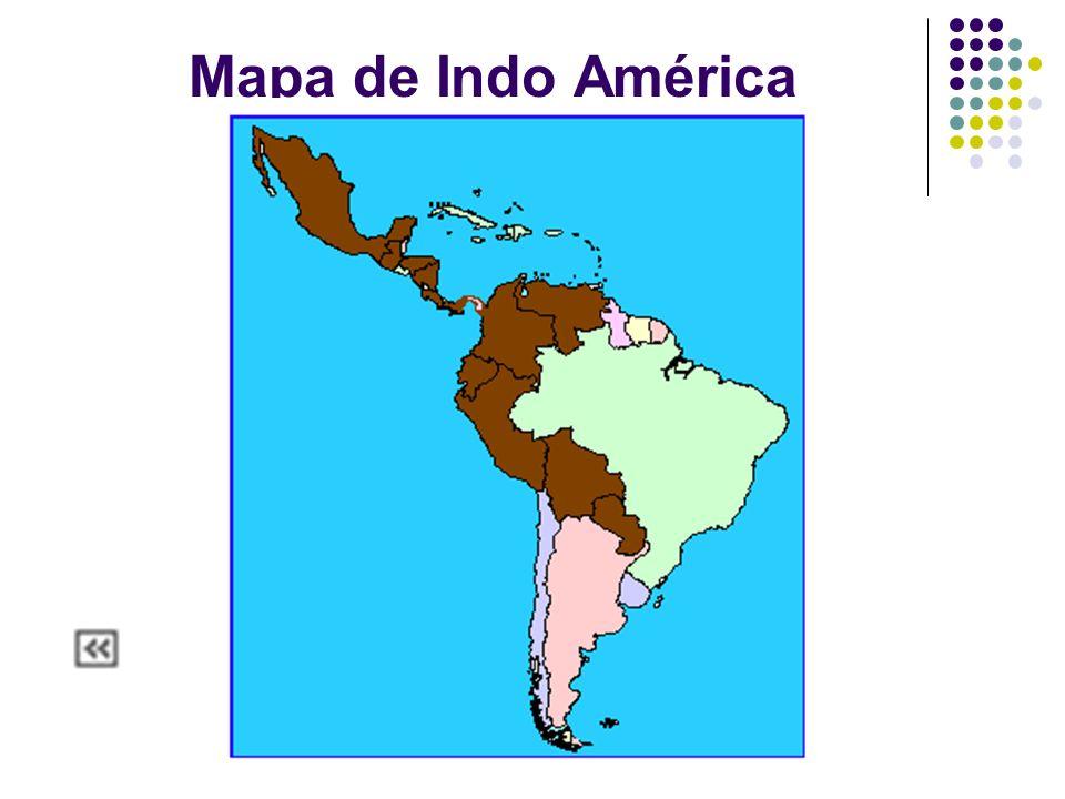 Mapa de Indo América