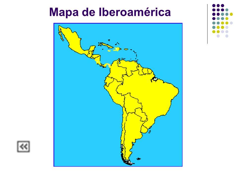 Mapa de Iberoamérica