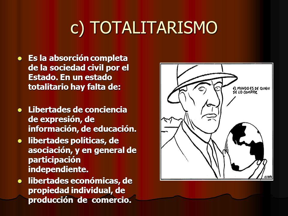 Diferencias con la dictadura : Se diferencia de los regímenes totalitarios de gobierno porque la dictadura: Se diferencia de los regímenes totalitario