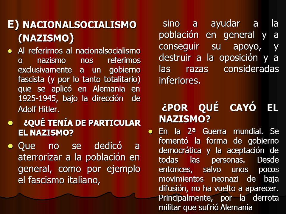 D. FASCISMO Fascismo es una ideología y un movimiento político totalitario que surgió en la Europa de entreguerras (1918-1939) en oposición a la democ