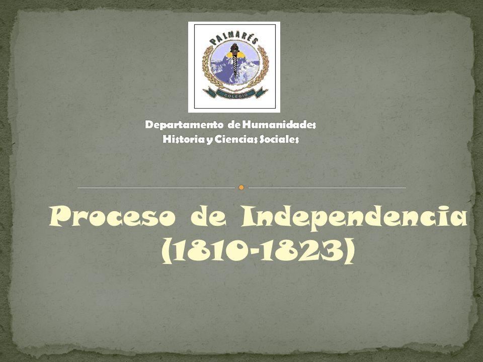 Proceso de Independencia (1810-1823)