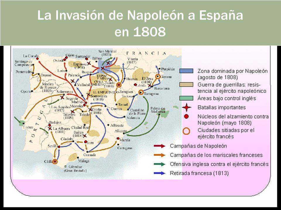 La Invasión de Napoleón a España en 1808
