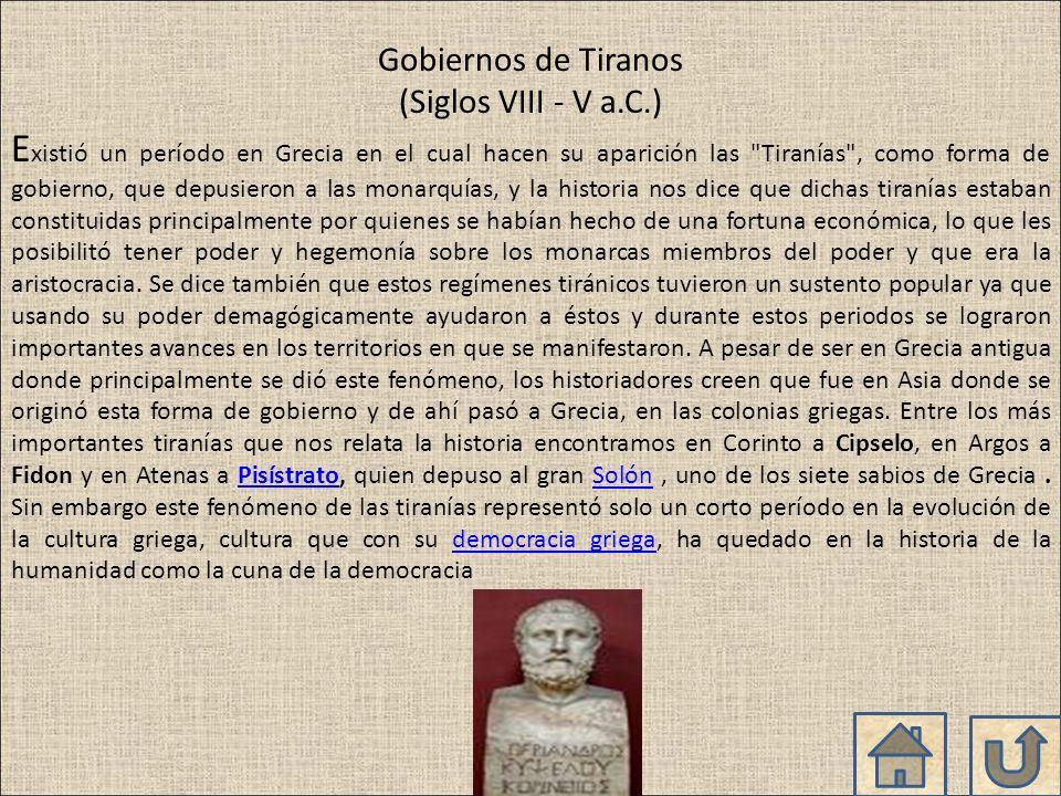 Solón fue un legislador de Grecia que corrigió el código de leyes de Dracón, creando una nueva ley que establecía que a los deudores se les libraba de