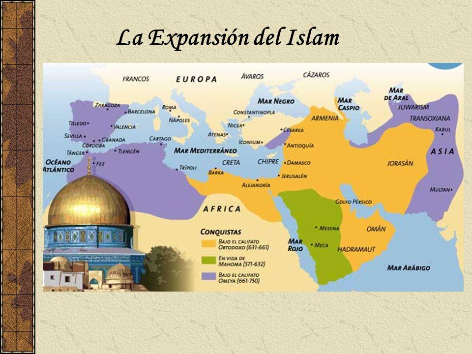 Principales conquistas Principales conquistas: La rápida expansión islámica puede ser resumida de la siguiente manera: 1.