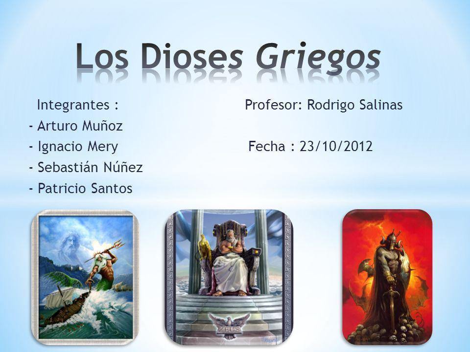 Integrantes : Profesor: Rodrigo Salinas - Arturo Muñoz - Ignacio Mery Fecha : 23/10/2012 - Sebastián Núñez - Patricio Santos