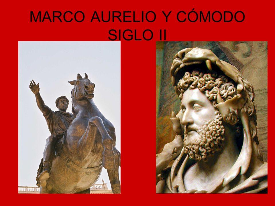 MARCO AURELIO Y CÓMODO SIGLO II