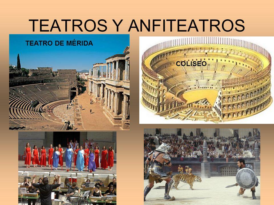 TEATROS Y ANFITEATROS TEATRO DE MÉRIDA COLISEO