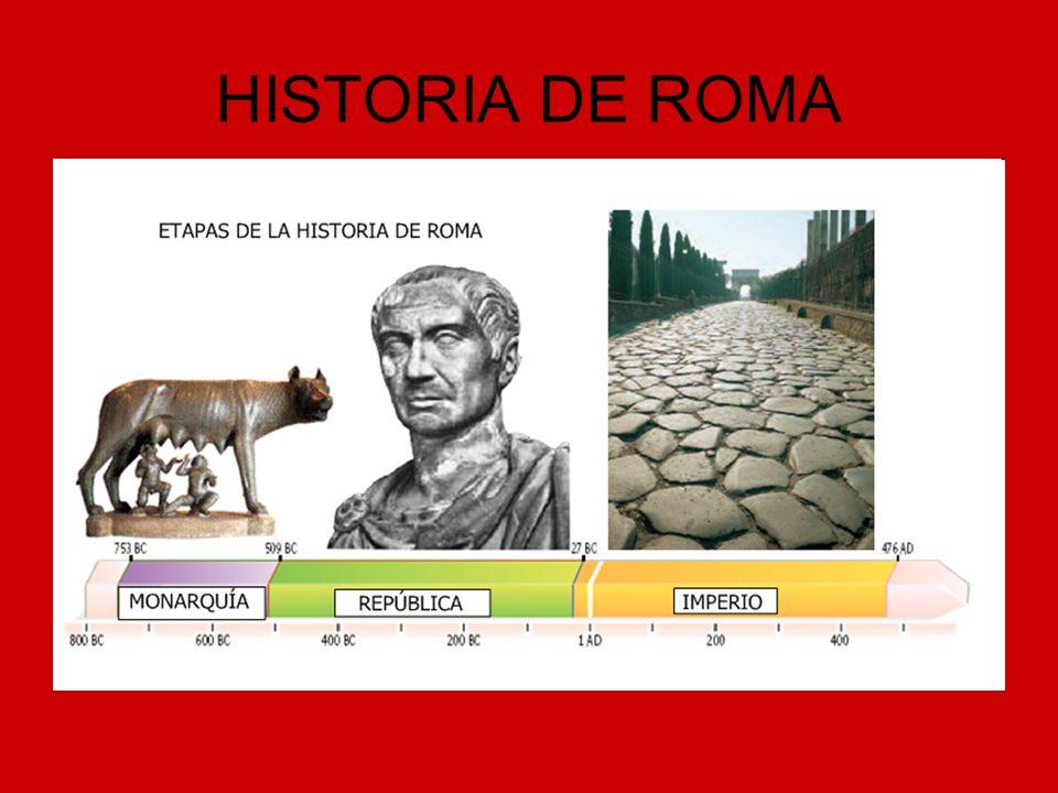 MONARQUÍA (753-509 A.