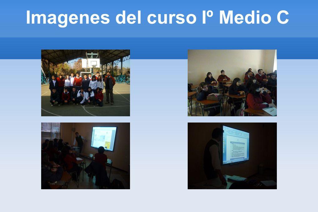 Imagenes del curso Iº Medio C