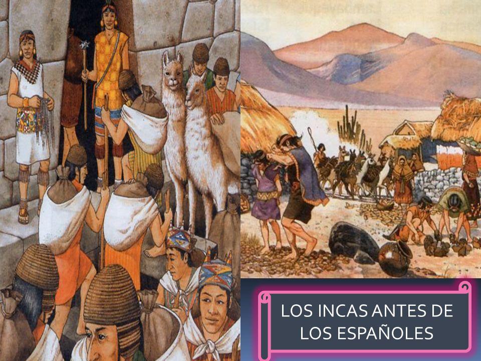 En esta zona habitaban los Incas, los cuales formaban el imperio más grande de la zona andina (de los Andes). Su emperador era considerado como el hij