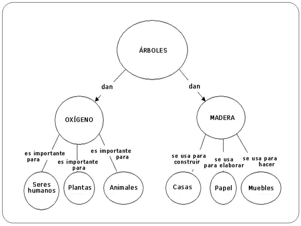Elaboración de los mapas semánticos Lluvias de ideas: palabras asociadas al tema, dependerá de conocimientos previos.
