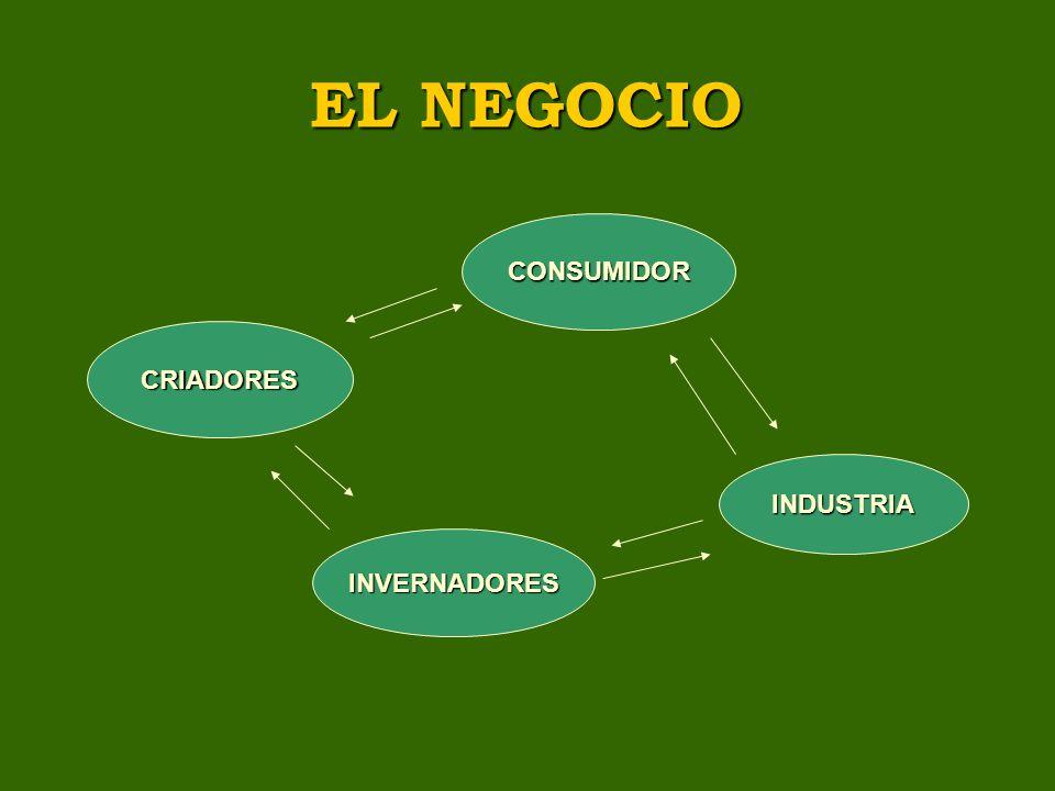 EL NEGOCIO CRIADORES INVERNADORES INDUSTRIA CONSUMIDOR