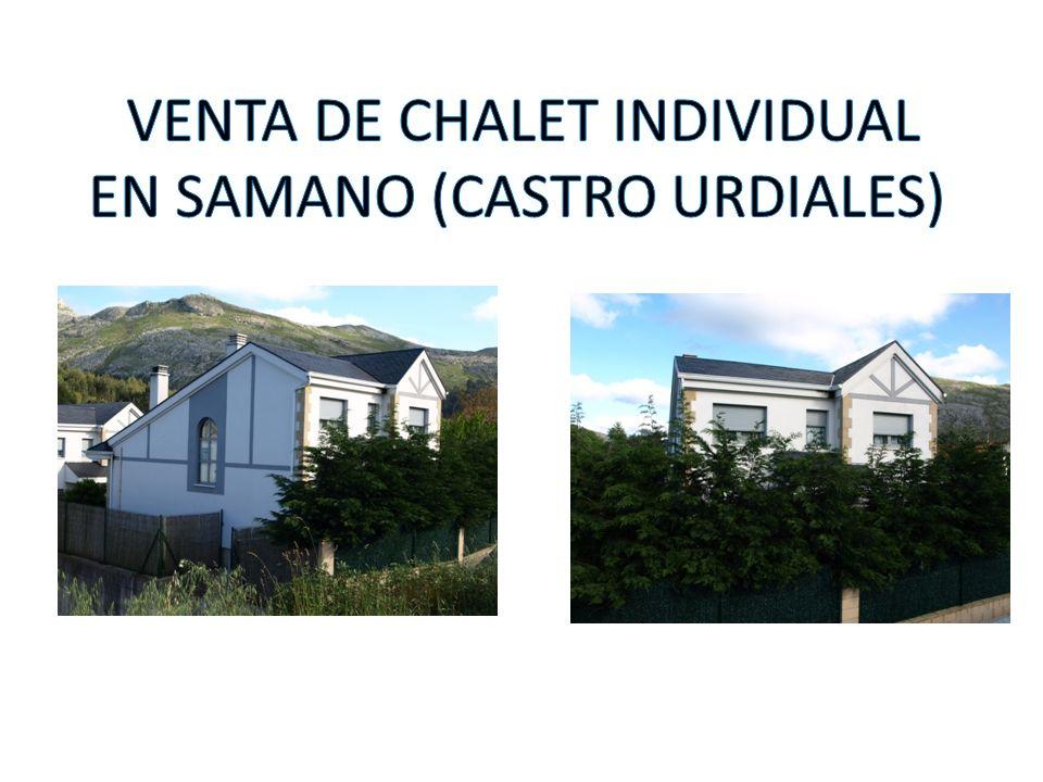 Chalet individual de 270 m2 construidos sobre una parcela individual de 400 m2.