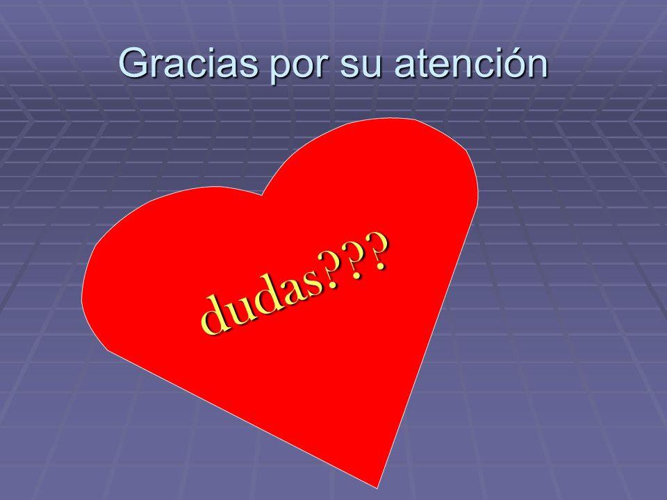 Gracias por su atención dudas???