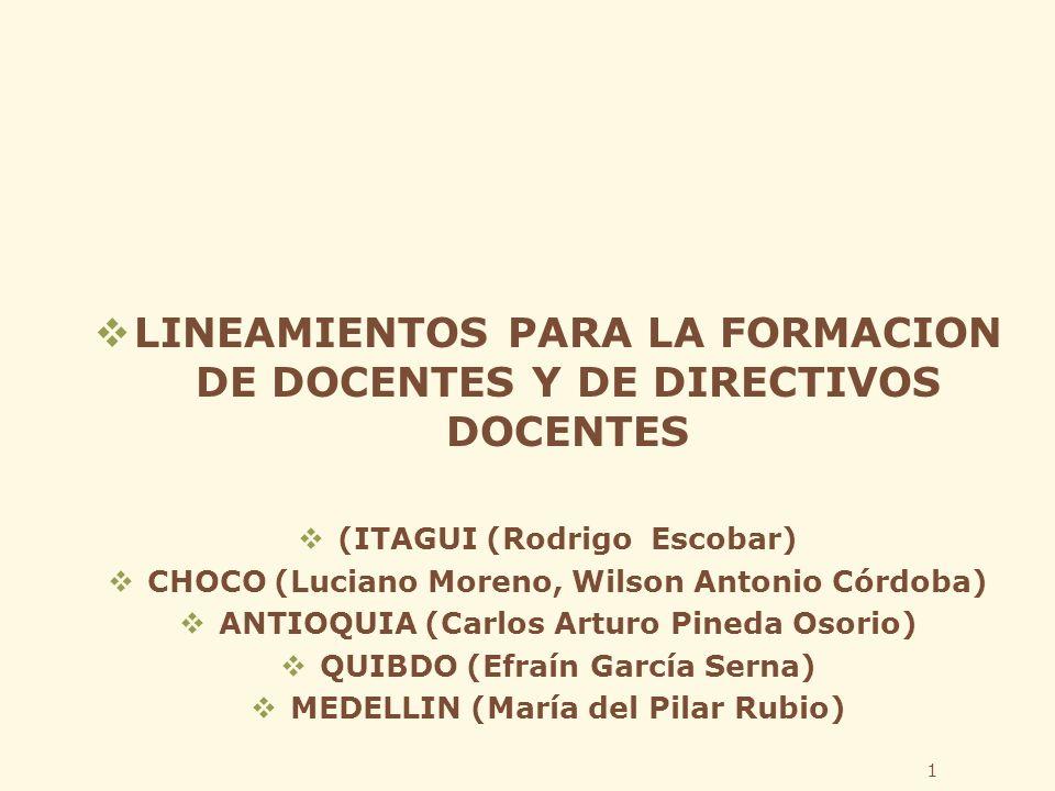 2 LINEAMIENTOS Articulación Equidad Pertinencia Desarrollo Humano Inclusión Elementos claves: