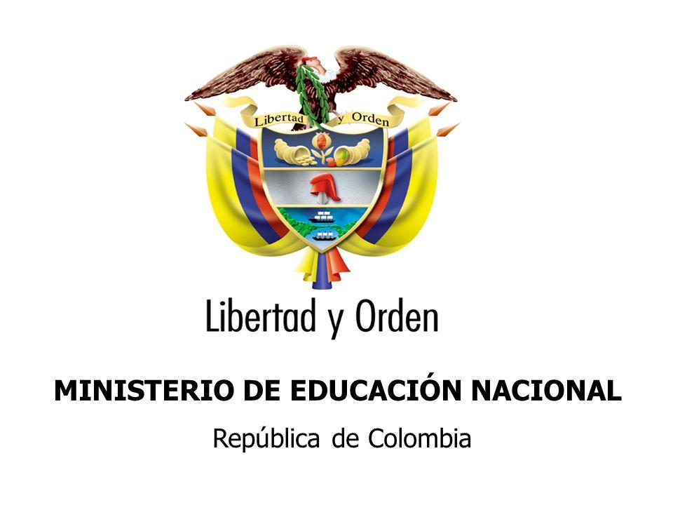 Ministerio de Educación Nacional República de Colombia Lineamientos para el acompañamiento a establecimientos educativos en el marco del mejoramiento de las prácticas pedagógicas y el fortalecimiento institucional Subdirección de Mejoramiento Noviembre 2009