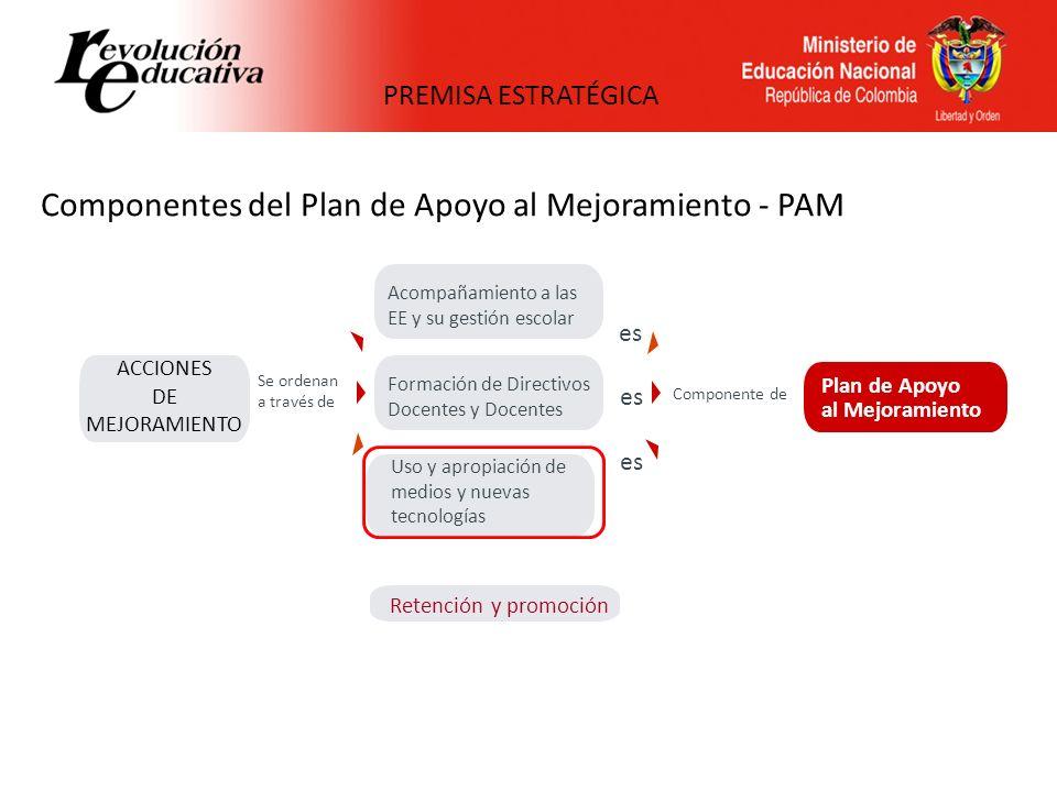 Componente de uso de MTIC en los PAM LA COMPRENSIÓN GENERA UNA SITUACIÓN