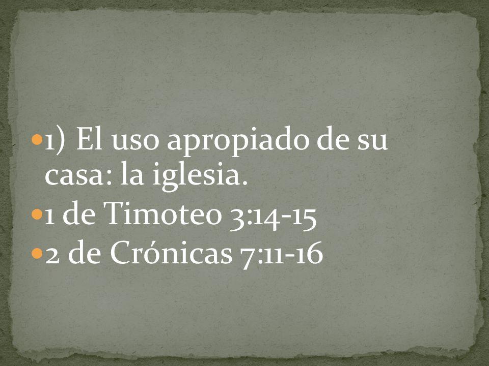 2) Que todas las personas tengan acceso a Dios.