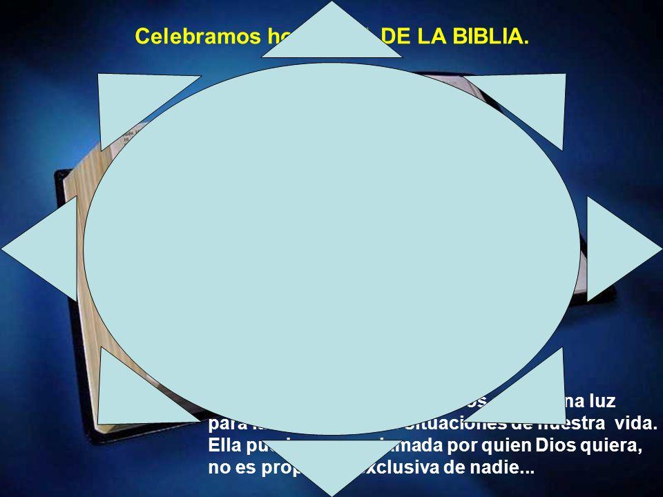 La Palabra de Dios siempre nos ofrece una luz para las más diversas situaciones de nuestra vida.