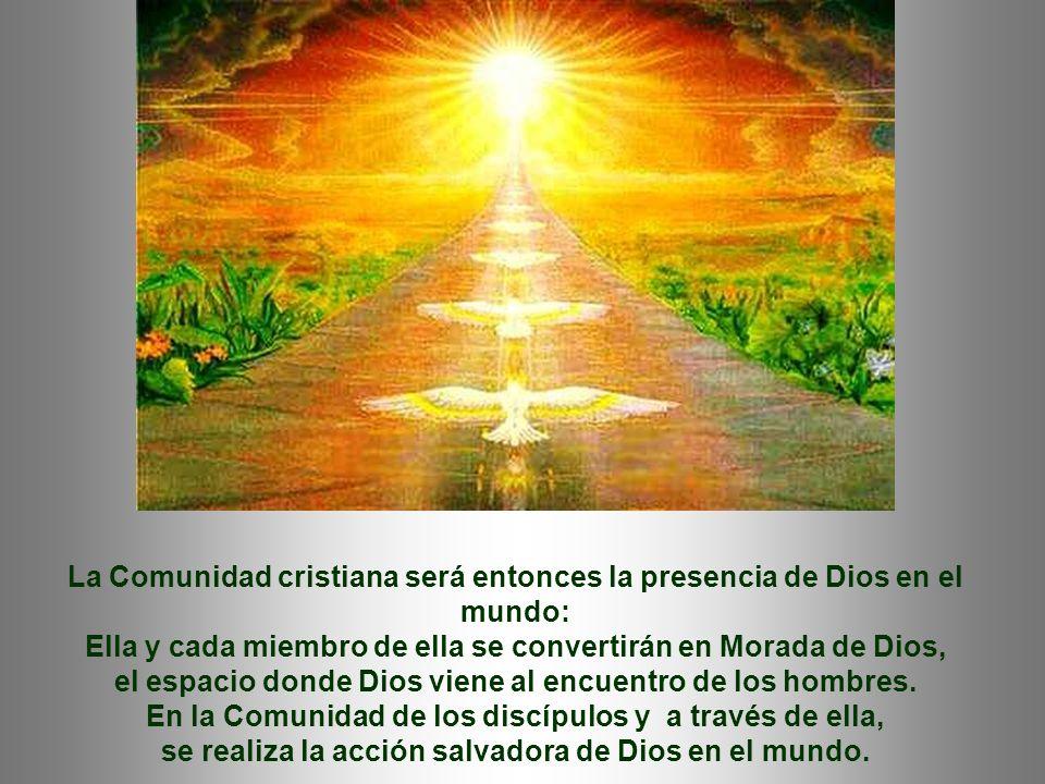 Consecuencias de ese amor vivido con los Mandamientos: - Merece recibir el Espíritu Santo: Él os dará el Espíritu de la Verdad