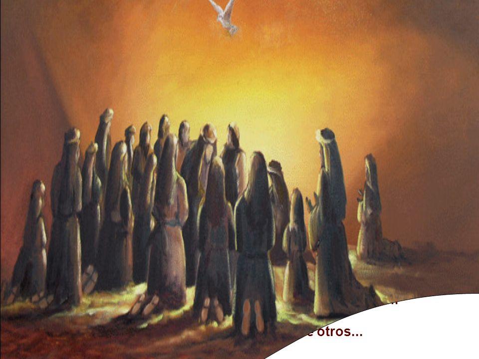 * Lucas quería afirmar que en la fiesta de la entrega de la Ley de Moisés, recibimos la nueva Ley de Cristo: el Espíritu Santo.